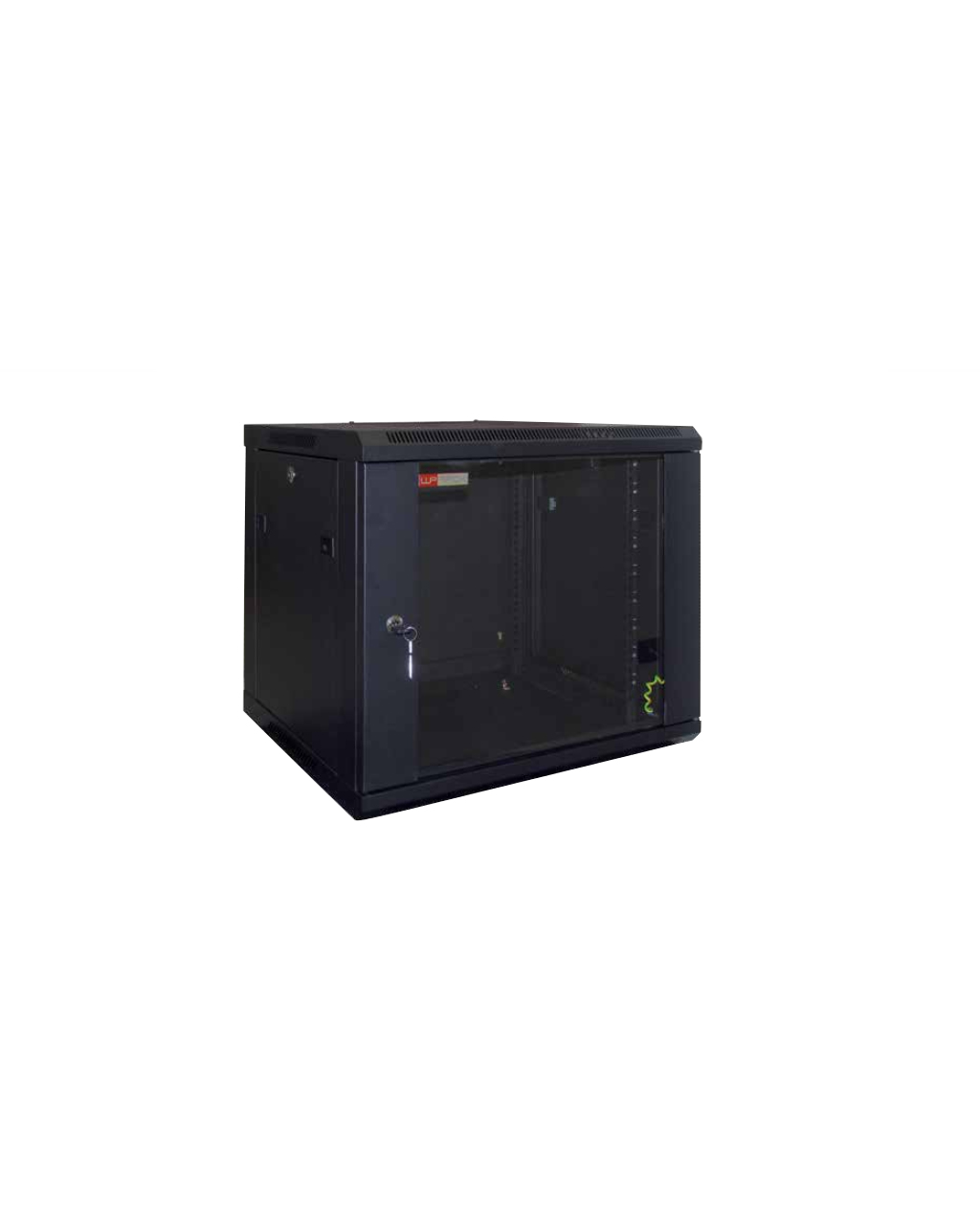 ARMADIO WPN-RWA-15604-B 15U A720XL540XP450MM NERO PORTA ...